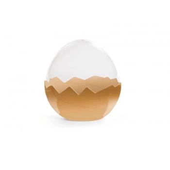 Embalagem para Ovo de Páscoa Desconstruído G – Ouro - Cromus