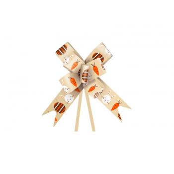 Laço Pronto Fun 1,8x38 cm c/ 10 unidades - Ouro- Cromus