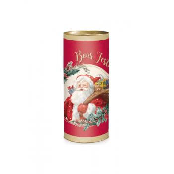 Lata Decorada Natal Sortida 24x10 cm - Cromus