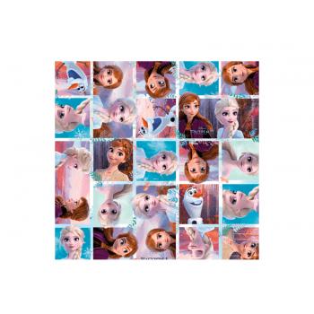 Papel Metalizado para Ovo de Páscoa Frozen 69x89 cm c/ 5 unidades – Reino do Gelo - Cromus