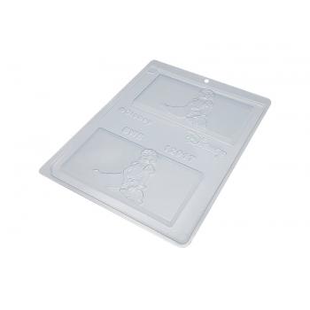 Forma de Acetato Placa Branca de neve - Bwb