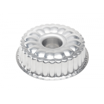Forma Alumínio Bolo Suíça  26 x 8 cm - Caparroz