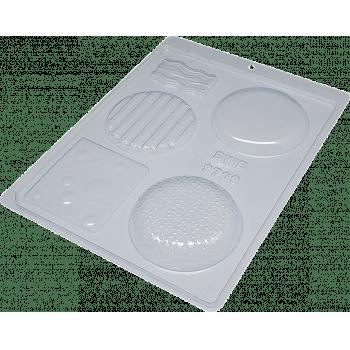 Forma de Acetato Hambúrguer N9709 – Bwb