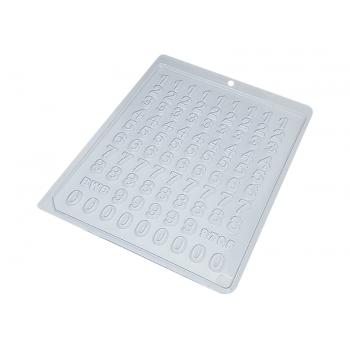 Forma de Acetato Mini Números N9705 - Bwb