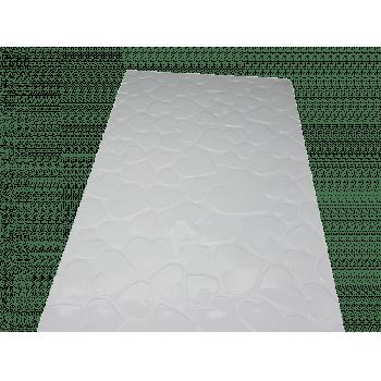 Placa de Textura Coração Grande N9384 - Bwb