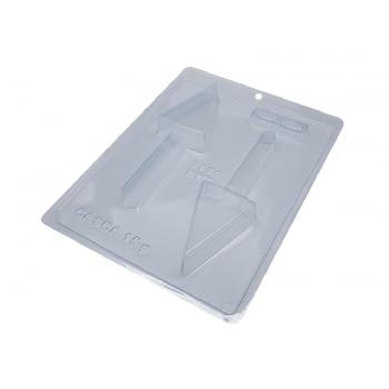 Forma Prática com Silicone Pirulito Gourmet Triângulo N9889 - Bwb