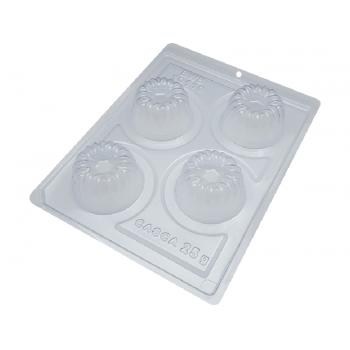 Forma Prática com Silicone Trufa Cake N10110 - Bwb