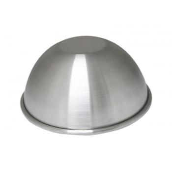 Forma para Bolo Suíça Decorado 10x5 cm Meia Bola N3 - Caparroz