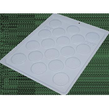 Forma de Acetato Redonda Texturizada N9747 - BWB