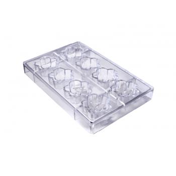 Forma para Chocolate de Policarbonato Flor Sakura GI0179 - Gramado