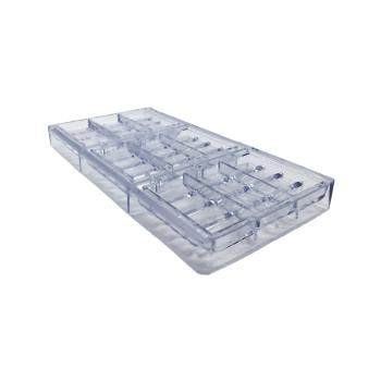 Forma para Chocolate de Policarbonato Tablete GI059 - Gramado
