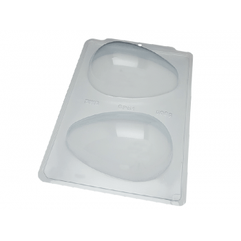 Forma Prática com Silicone para Ovo de Páscoa 500g - SP51 – Bwb