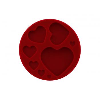 Molde de Silicone Corações- Yangzi