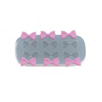 Molde de Silicone Lacinhos Sexteto 358- Flexarte