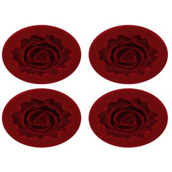 Molde de Silicone Rosa Carol C/4 Yangzi