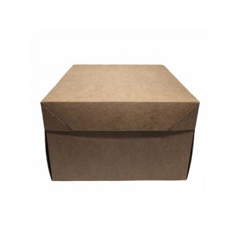 Caixa Kraft Bolo 29x29x10 cm - Agabox