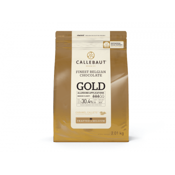 Callets Callebaut Gold Chocolate Caramelo 2,01kg