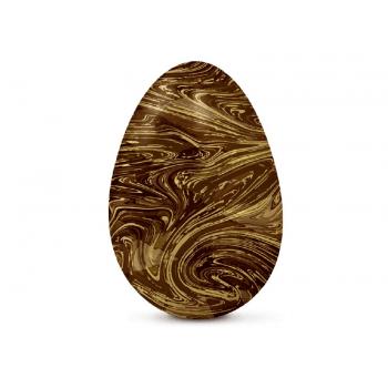 Papel Chumbo Marrom Marmorizado 43,5x58,5 cm c/ 5 Folhas - Cromus
