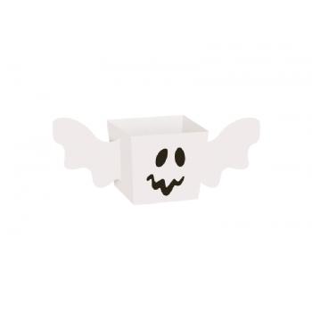 Cachepot Halloween Fantasma 8x8x7 cm c/8 unidades - Cromus