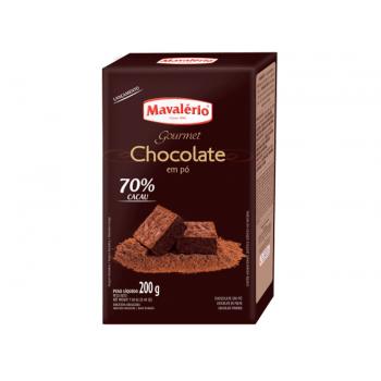 Chocolate Pó Mavalério 200g  70% Cacau