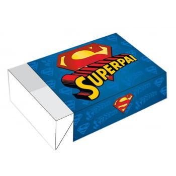 Caixa para Doces Dia dos Pais c/10 unidades 12x8x3,5 cm – Super Pai