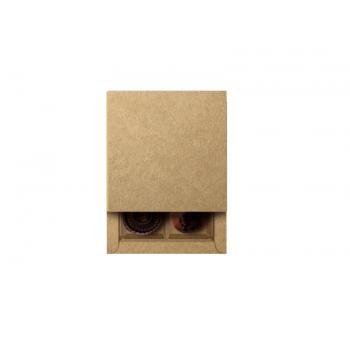 Caixa Kraft 9,5x9,5x4 cm Gaveta - Cromus