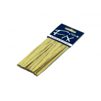 Fecho Prático Ouro Fosco c/ 100 unidades – Rogini