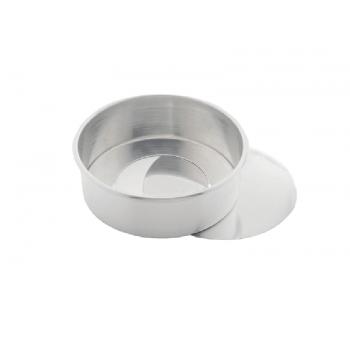 Forma Alumínio Bolo Redondo Fundo Solto 20 x 10 cm - Caparroz