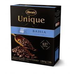 Chocolate Harald Unique Bahia Gotas Amargo 63% 1,05Kg